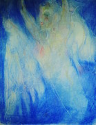 Angels Pastels Prints - Ascend Print by Ava Childs