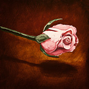 Rose Painting Prints - Ascension Print by Mark Zelmer