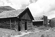 Ashcroft Prints - Ashcroft Ghost Town Print by Eric Glaser