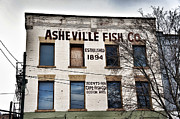 Love Asheville Posters - Asheville Fish Co Poster by Brandon Addis
