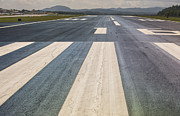 Avl Framed Prints - Asheville Regional Airport Runway 16 Framed Print by Performance  Impressions