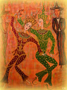 Marie Schwarzer - Asian Dancers