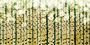 All - Aspen Colorado Abstract Panorama 3 by Andee Photography