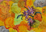 Forest Floor Prints - Aspen Forest Floor Print by Beverley Harper Tinsley