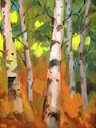 Diane McClary - Aspen Trees