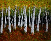 Melvin Turner - Aspens in Fall 2