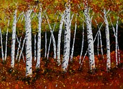 Melvin Turner - Aspens in Fall 3