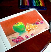 Christopher Kyle Art - Assorted Fruit by Christopher Kyle