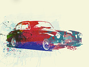 Classic Cars Posters - Aston Martin DB2 Poster by Irina  March