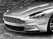 New Car Prints - ASTON MARTIN Palm Springs Print by William Dey