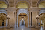 The Main Art - Astor Hall At The New York Public Library by Susan Candelario
