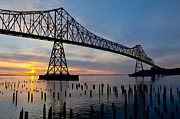 Nick  Boren - Astoria Bridge Sunset