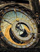 Astronomical Clock In Prague Print by Jelena Jovanovic