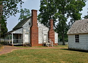 Old Cabins Photos - At Appomattox by Susan Wyman