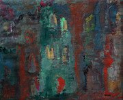 Paris Paintings - At Dusk II by Oscar Penalber