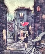 At Heart Print by Mo T