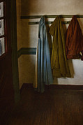 Coat Rack Photos - At Home by Margie Hurwich