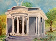 Historic Pastels Prints - At Island Park- Ann Arbor Michigan Print by Yoshiko Mishina