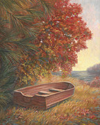 At Rest Print by Lucie Bilodeau