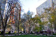 Phila Framed Prints - At Rittenhouse Square Framed Print by Bill Cannon