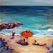 Valerie Vescovi - At the Beach