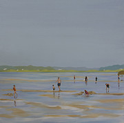 Hamptons Painting Prints - At the Cut Print by Sally Breen