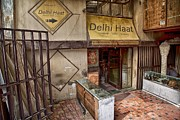 John Hoey - At the Delhi Haat Market