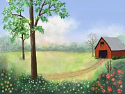 Zelma Hensel - At the Farm