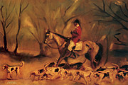 Karen Francis - At the Fox Hunt