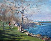 Ylli Haruni - At the park by Lake Ontario