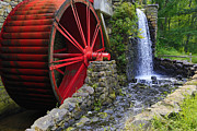 Wayside Inn Metal Prints - At the Wayside Inn Gristmill Metal Print by John Hoey