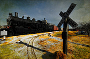 Atchison Kansas Rails Print by Liane Wright