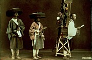 Kimonos Photos - Atelier Beato Felice, Pilgrims, 1863 - by Everett