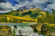 Jim  Hatch - Athabasca Falls