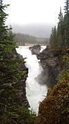 Gail Matthews - Athabasca Falls on Foggy Day