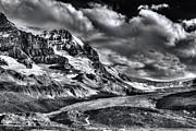 Athabasca Glacier Print by Wayne Sherriff