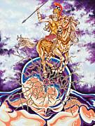Athena Print by Catherine Henningham Puttick