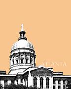 Atlanta Capital Building - Wheat Print by DB Artist