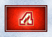 Hockey Art - Atlanta Flames by Joe Hamilton