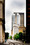 City Streets Photos - Atlanta Flatiron by Mark E Tisdale