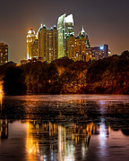 Anna Rumiantseva - Atlanta. Night Piedmont...