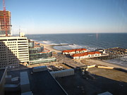 Swimming Metal Prints - Atlantic City - 01133 Metal Print by DC Photographer