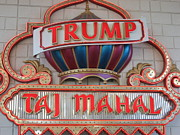 Games Photo Prints - Atlantic City - Trump Taj Mahal Casino - 12121 Print by DC Photographer