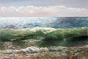 Custom  Studio Paintings - Atlantic Ocean by Vladimir Volosov