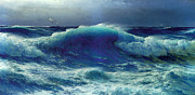 Atlantic Ocean Digital Art - Atlantic Roll by David James