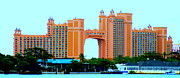 Bahamas Photos - Atlantis Bahamas by Randall Weidner