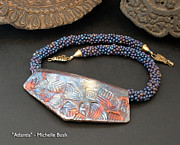 Beadwork Jewelry - Atlantis by Michelle Bush
