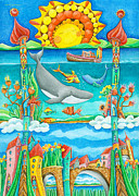 Atlantis Print by Sonja Mengkowski