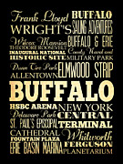 Ferguson Originals - Attractions and Famous Places of Buffalo New York by Joy House Studio