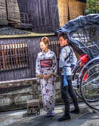 Kyoto Photos - Attractive Couple by Juli Scalzi